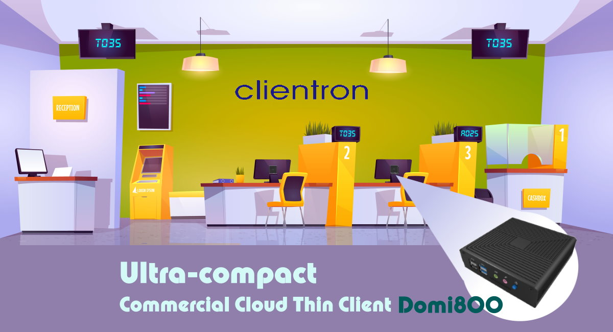 a flexible and expandable commercial thin client device