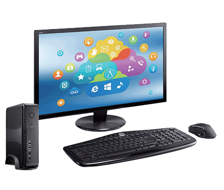 Clientron Thin Client F620, Connected, Secured, Management