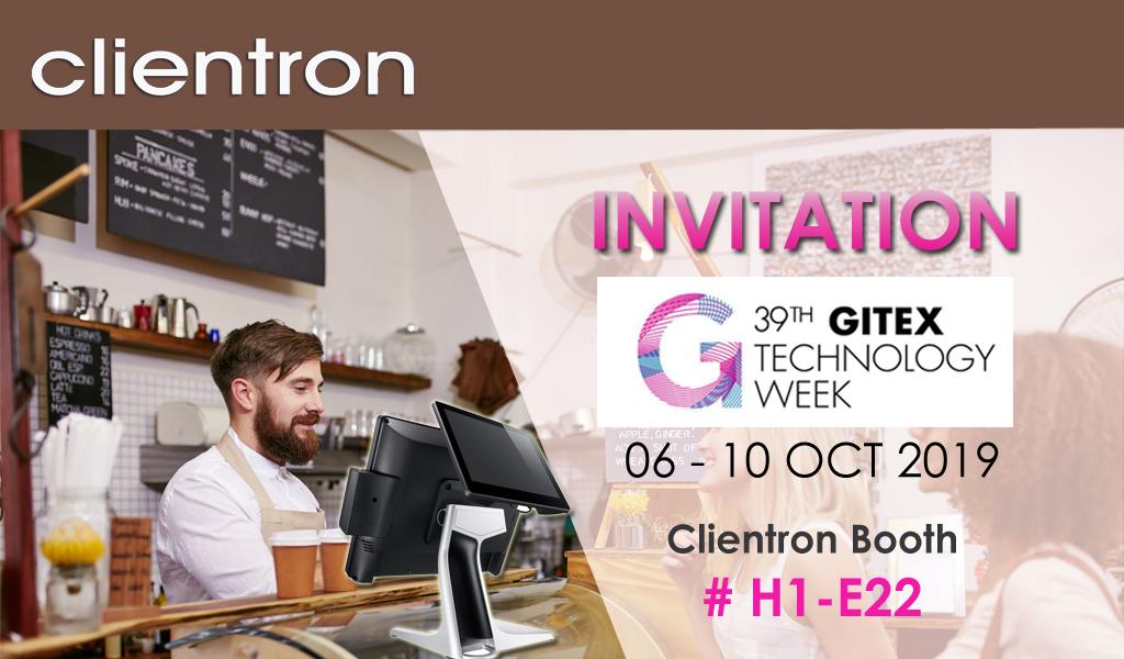 Clientron POS attends GITEX 2019.