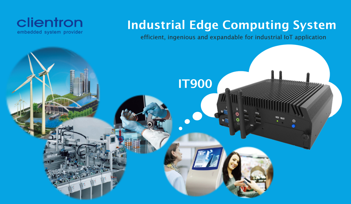 Edge computer, embedded system. IT900, Taiwan Excellence Award