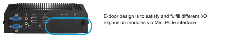 Embedded system, rich I/O