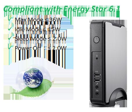 Clientron Thin Client L810 Power Consumption