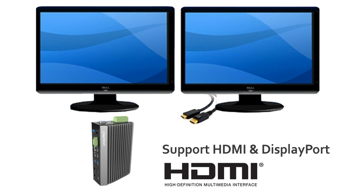 Support High Definition Dual Displays