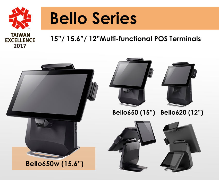 the Bello Series win the Taiwan Excellence Award 2017