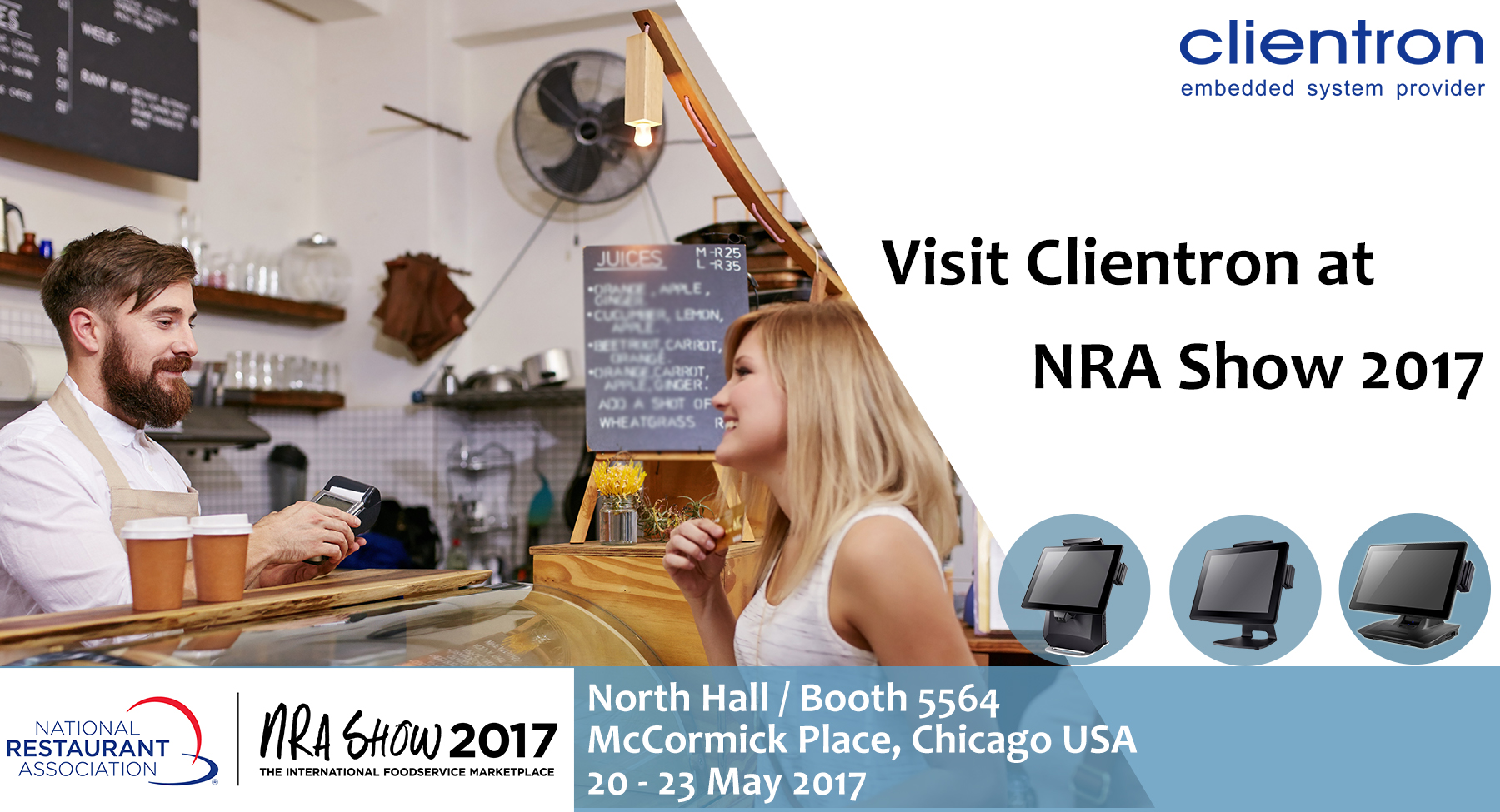 Visit Clientron at NRA Show 2017