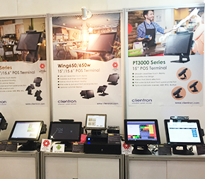 Clientron POS Solutions at FHI 2017