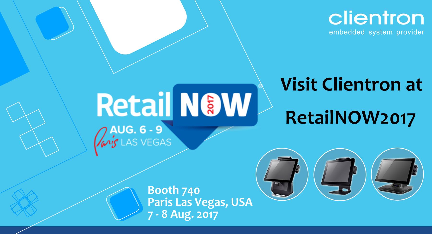 Visit Clientron at RetailNOW 2017