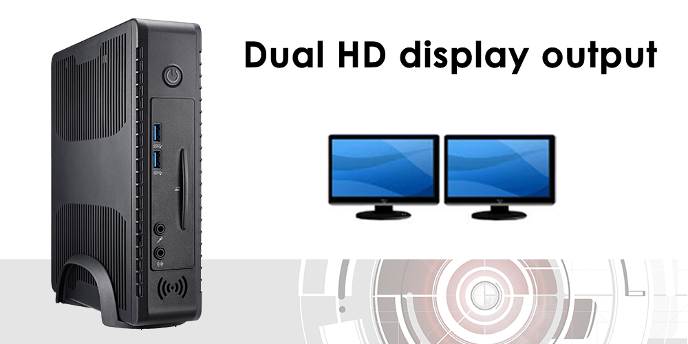 Dual HD display output