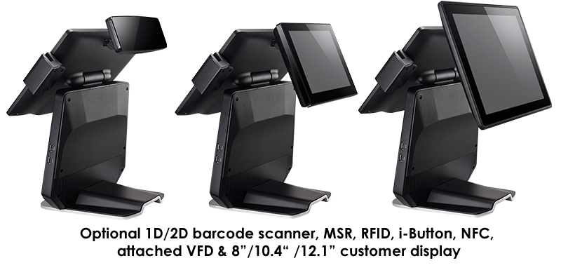 The Bello620 series - Innovation of dual customer displays