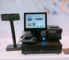Clientron All-in-One POS PC AU3825 at EuroShop 2017