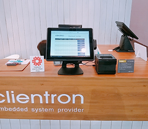 Clientron All-in-One POS Terminal Ares650 at EuroShop 2017