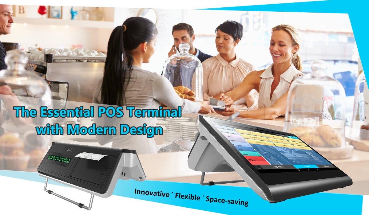 Clientron Shop Essential POS Terminal with 3-inch Printer Inside