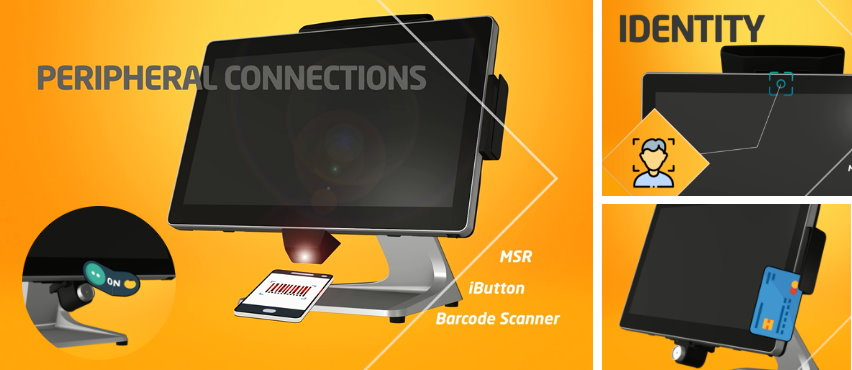 MSR, iButton, Barcode Scanner