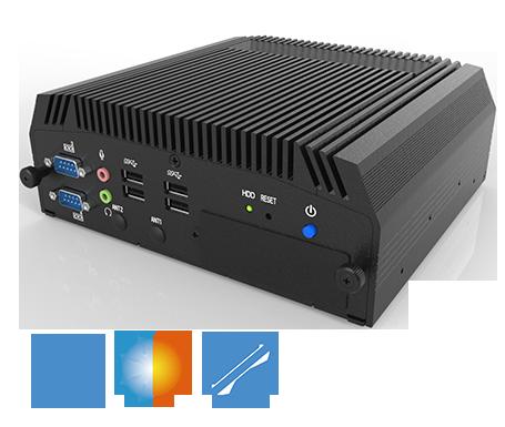 IT800 Fanless Embedded System