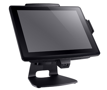 Clientron Ares650 all-in-one POS terminal - IP64 water and dust proof front panel protection