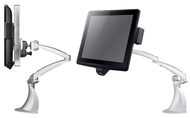 Clientron Ares650 all-in-one POS terminal - Flexible installation