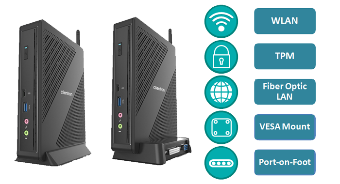 S810 thin client, High Expansion with Optional Module & Accessories Design