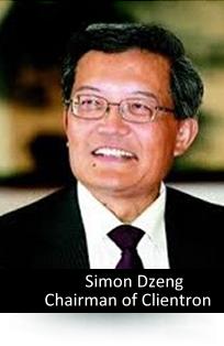 Simon Dzeng / Chairman of the Board, Clientron Corp.