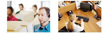 call center, enterprise client, thin client, zero client and smart client solution for Small & Medium Business, office
