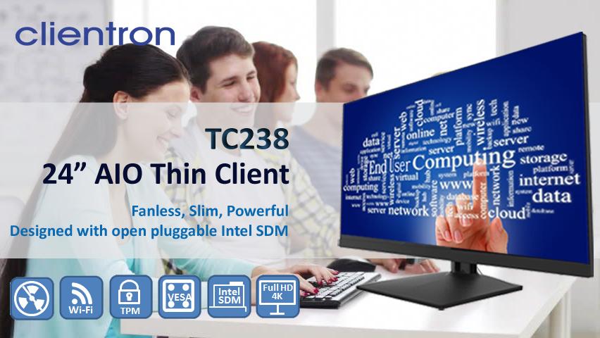 Intel SDM AiO thin client TC238