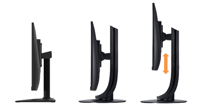 AiOThin Client TC238, Optional adjustable footstand