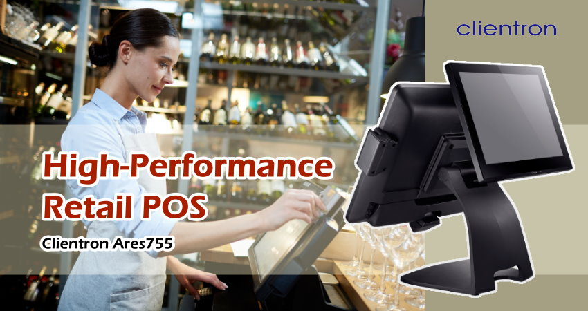 High-Performance Retail POS - Clientron Ares755