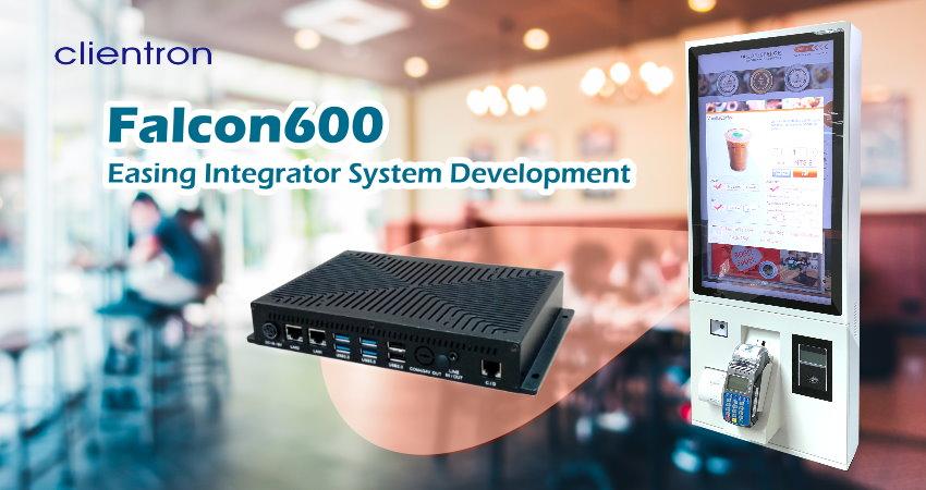 Clientron Falcon600 - The Key to Kingly Kiosks