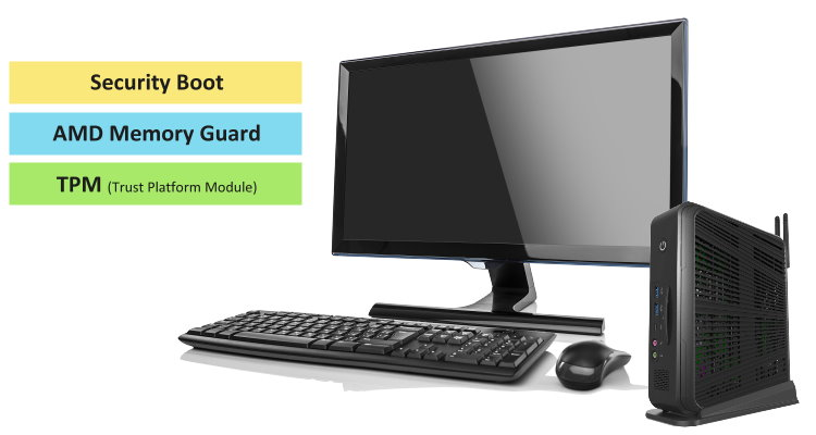 clientron thin client support cyber security