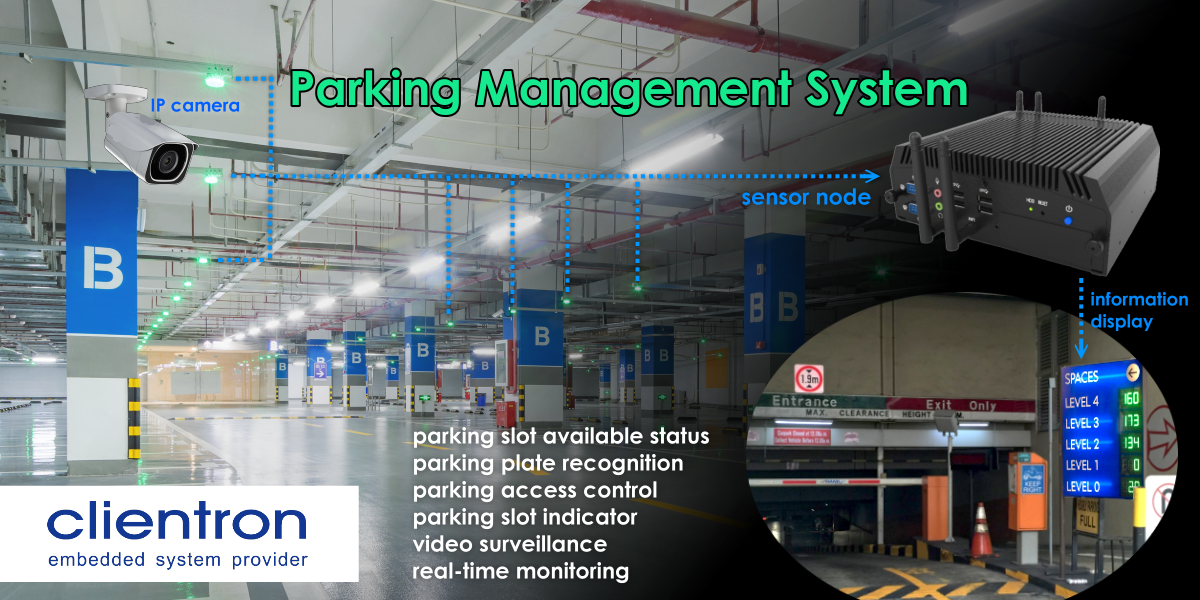 Clientron Embedded Computing System for Parking Management Application