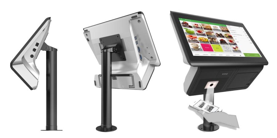 more than a POS, transform to self-service, interactive kiosk