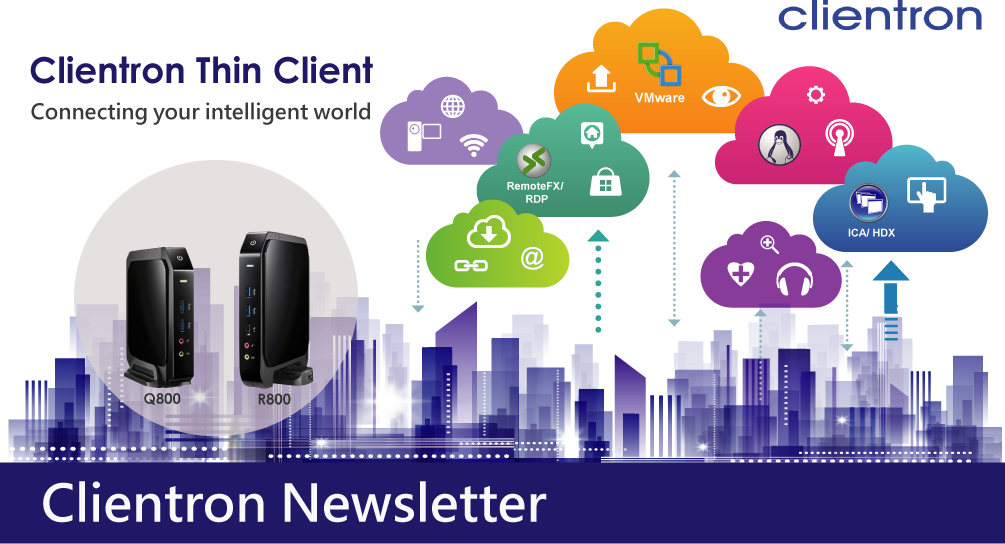 2017 Clientron Newsletter Banner
