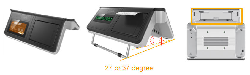 flexible POS stand design