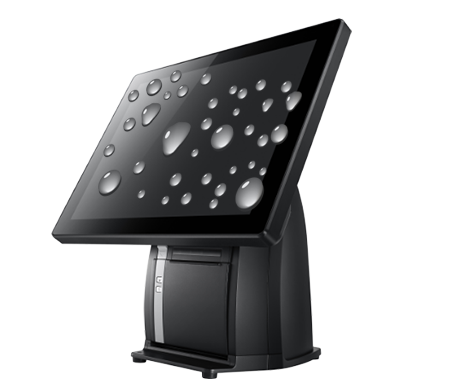 PST650 POS Terminal, IP64 on Front Panel Protection