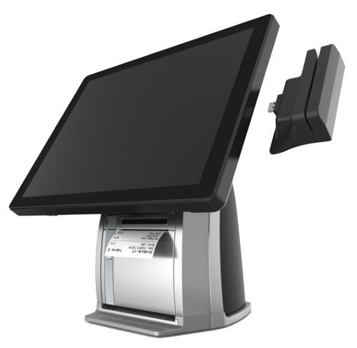 PST650 POS Terminal, Easy to install MSR and iButton via USB connector