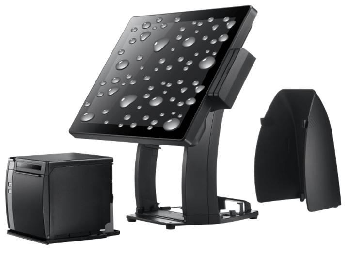 獨特創新且彈性的腳座結構設計,可兼容支援多家廠牌的高速熱感式印表機且隱藏於腳座內